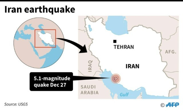 Quake strikes near Iran nuclear plant…