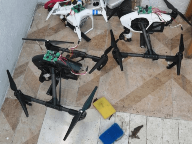 Drones Outfitted with Explosives Seized in Mexico in 'Active Terrorism Investigation'…