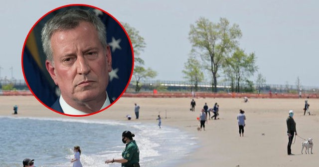 De Blasio Warns Beachgoers Will 'Be Taken Right Out Of The Water' If They Try To Swim…