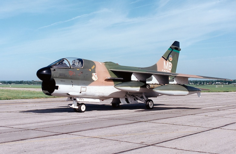 LTV A-7D Corsair II > National Museum of the United States Air Force™ > Display