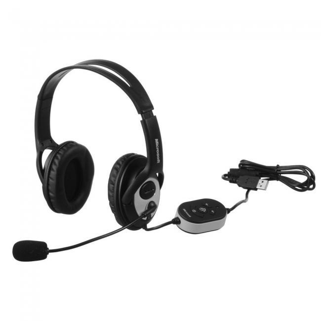 Headset USB Microsoft Lifechat LX-3000 para podcast