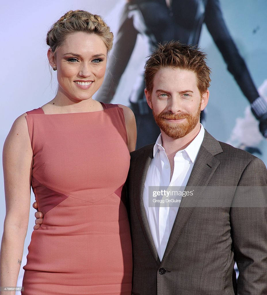 Actor Seth Green and wife Clare Grant arrive at the Los ...