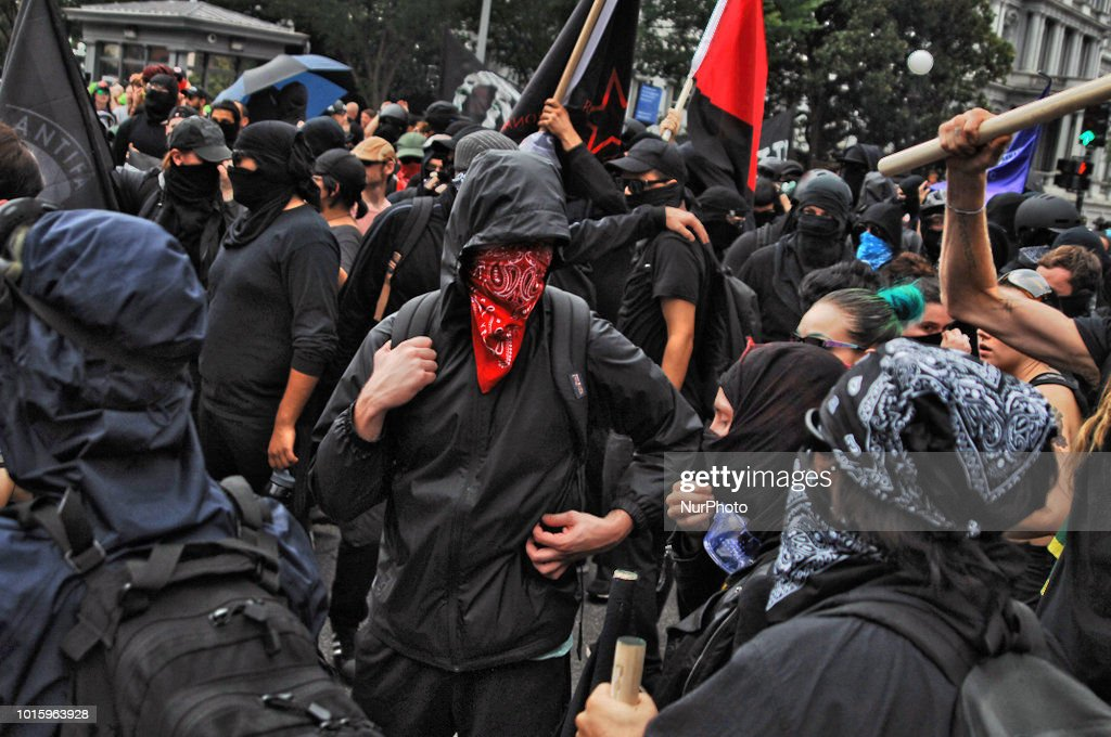 Antifa in solidarity with Anti Racist activists from DC ...