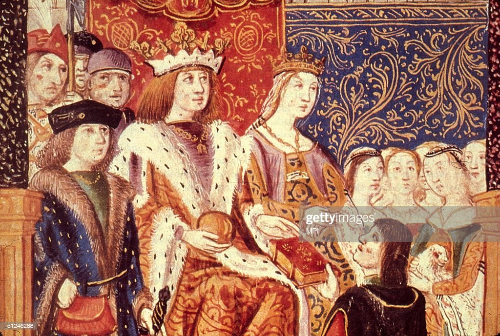 1469, King Ferdinand and Queen Isabella of Spain. They ...