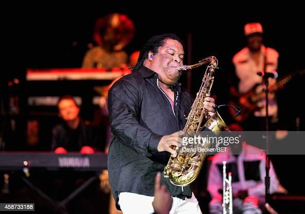 Musician Louis Van Taylor of Kool & the Gang performs ...