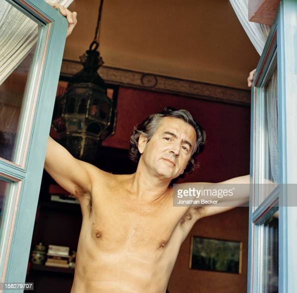 Writer Bernard-Henri Levy is photographed for Vanity Fair ...