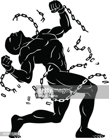 Break The Chains stock illustration - Getty Images