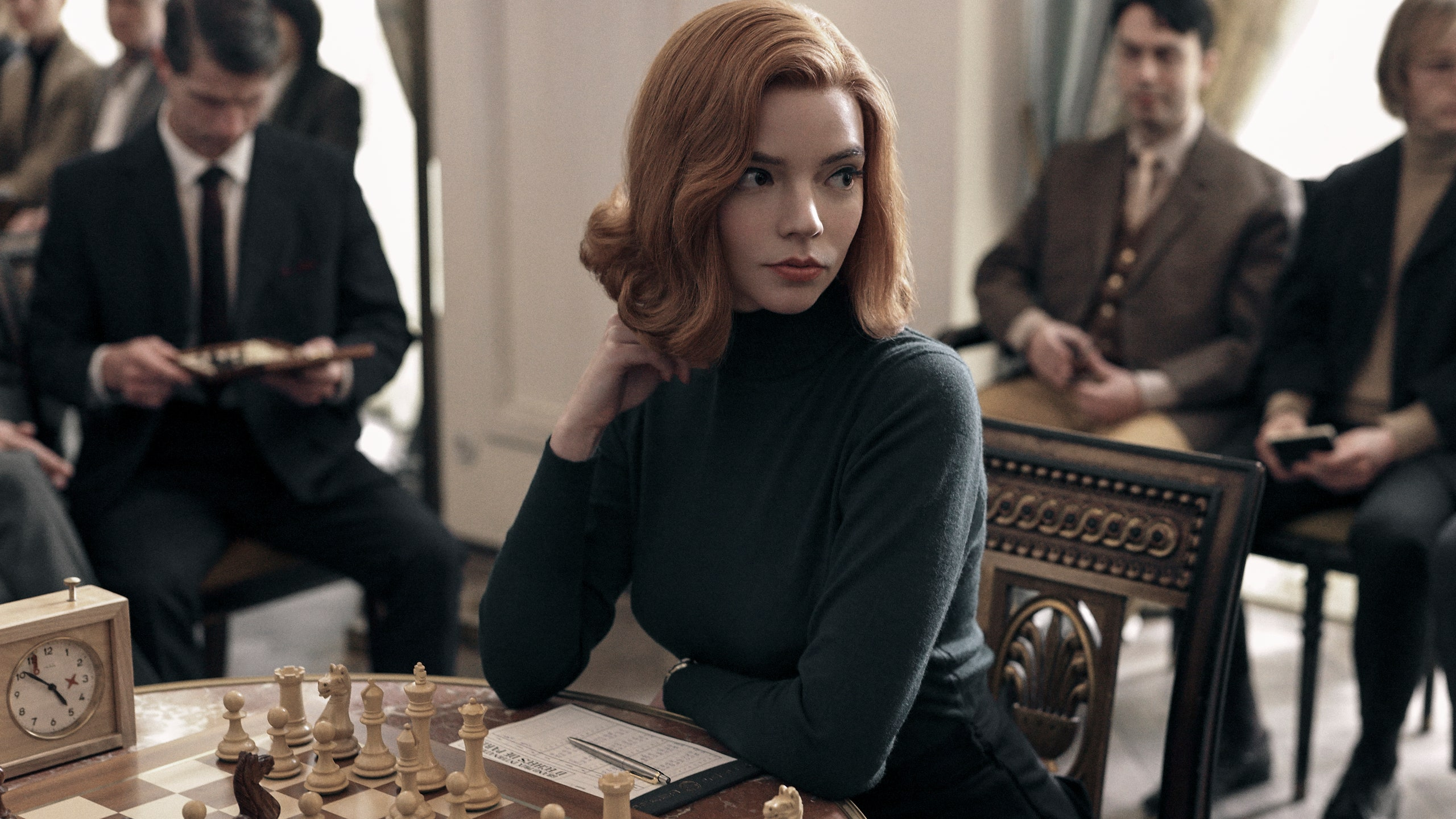 'The Queen's Gambit' Review: Anya Taylor-Joy Defies Every ...