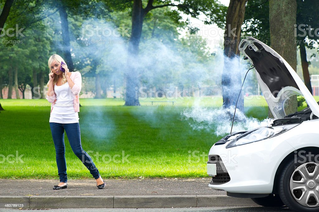 Car Breakdown Stock Photo - Download Image Now - iStock