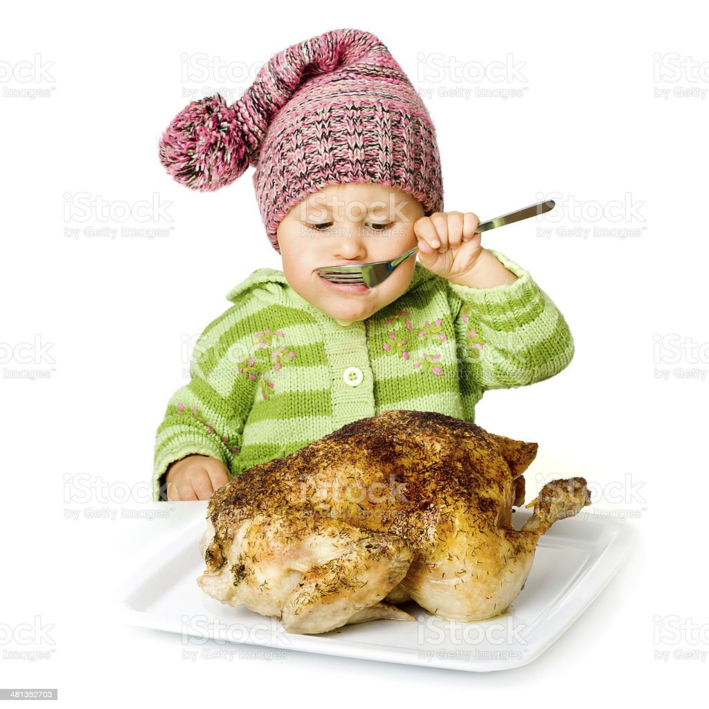 Funny Child Eating Stock Photo - Download Image Now - iStock