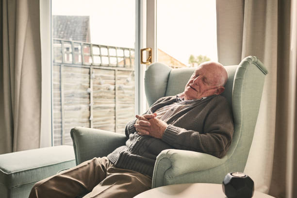 Royalty Free Old People Sleeping Pictures, Images and ...