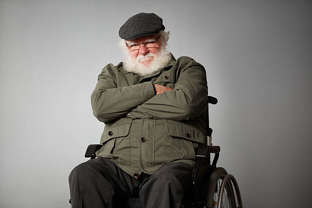 Best Grumpy Old Man Senior Adult 70s Wheelchair Stock Photos, Pictures & Royalty-Free Images ...