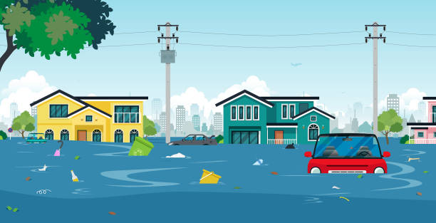 Best Flood Illustrations, Royalty-Free Vector Graphics ...