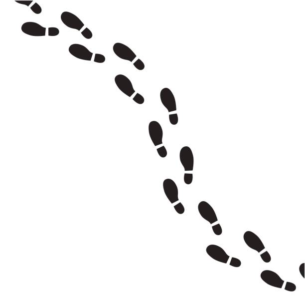 Best Footprint Illustrations, Royalty-Free Vector Graphics & Clip Art - iStock