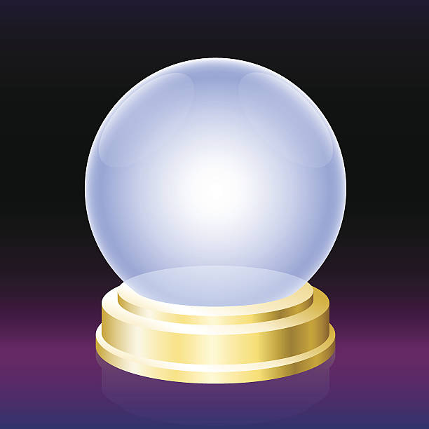 Crystal Ball Illustrations, Royalty-Free Vector Graphics ...