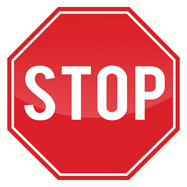 Royalty Free Stop Sign Clip Art, Vector Images ...