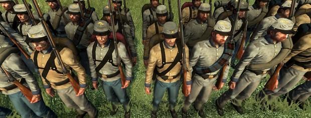Florida infantry image - American Civil War: Brothers vs ...