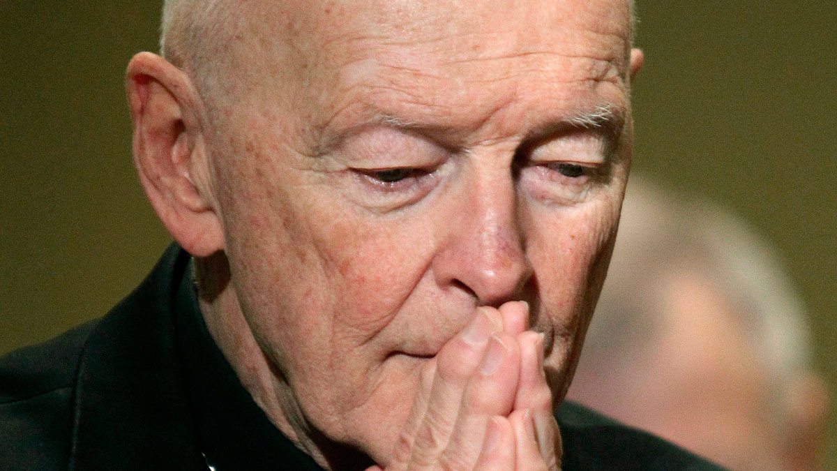 Lawyer: McCarrick Repeatedly Touched Youth During ...