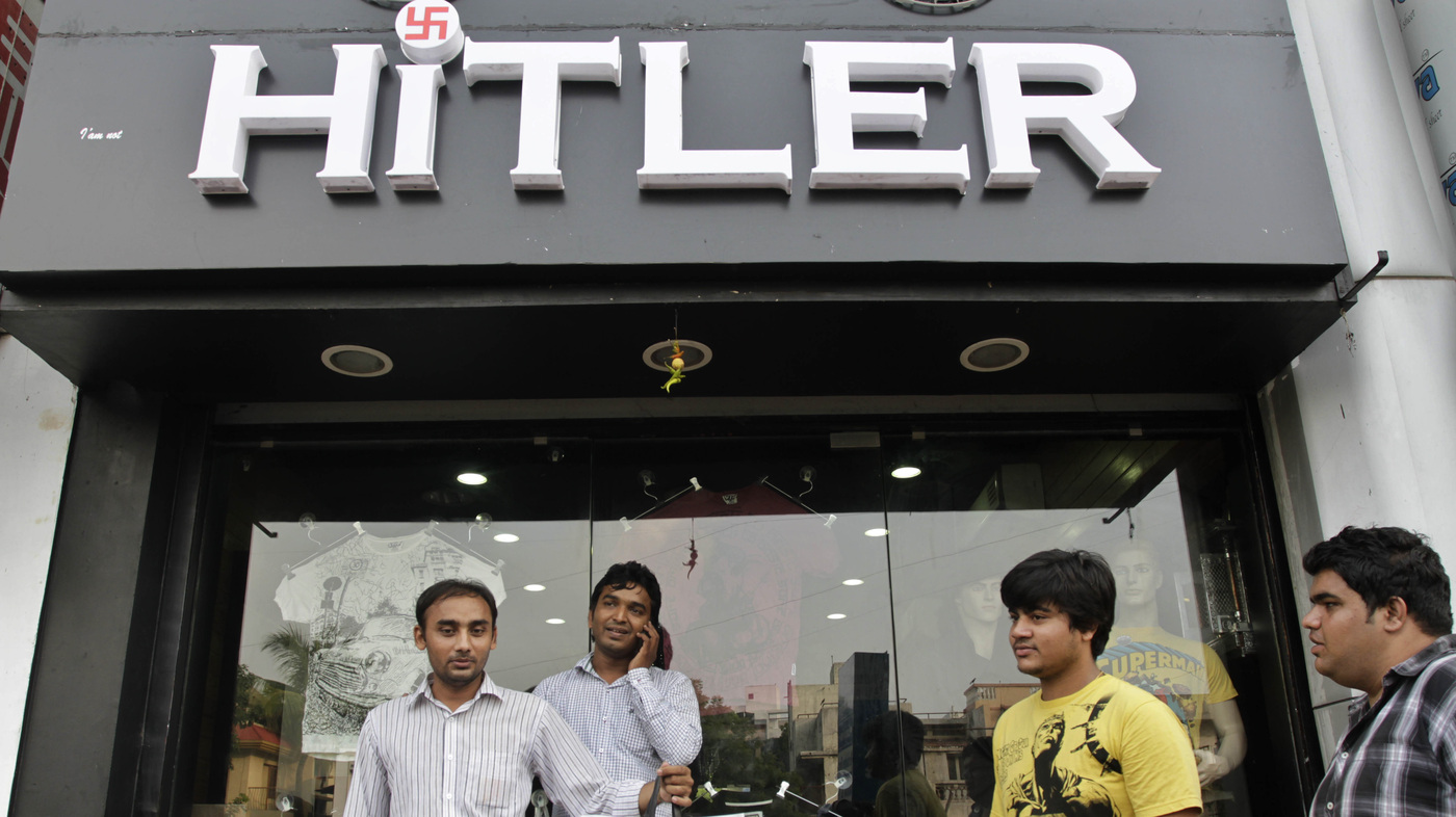 Hitler's Hot In India : NPR