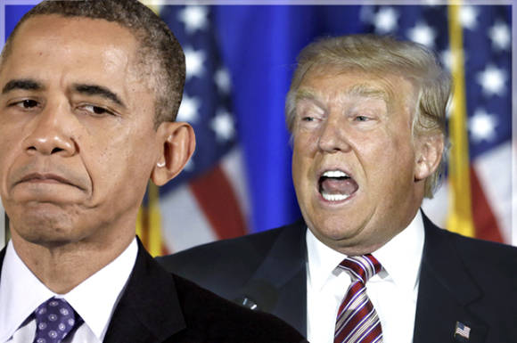 Capitalizing on stupidity: Today, Trump called Obama a ...
