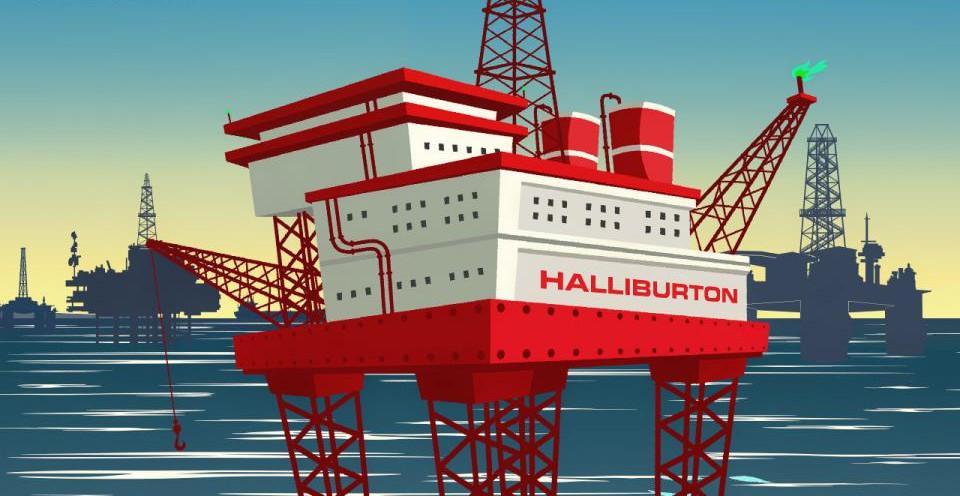 Американская Halliburton оцифрует данные украинских недр ...