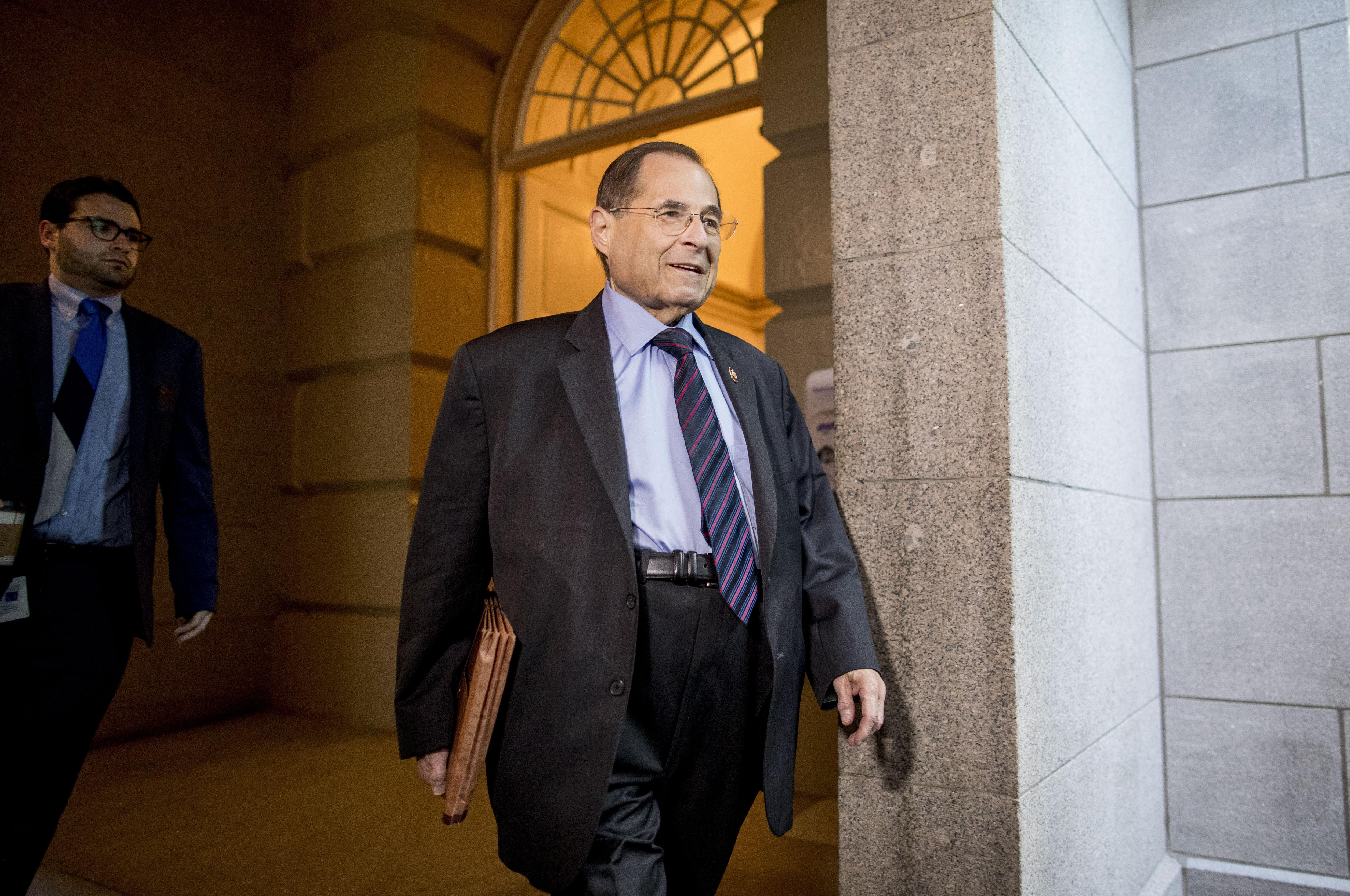 Butterball Nadler failed to swear in the two counsels for both the Democrats and Republicans prior to their opening statements in Monday's impeachment inquiry hearing…