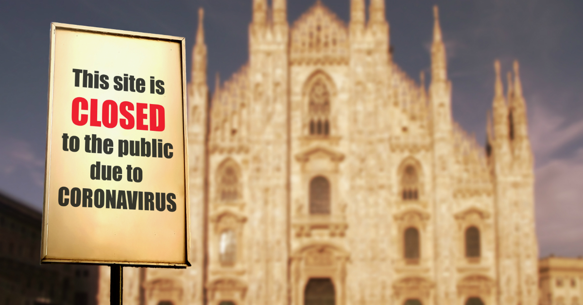 Does it Violate Religious Liberty to Close Churches over ...