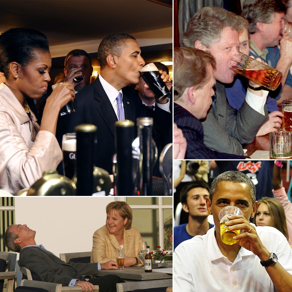 Politicians Drinking Beer | POPSUGAR Celebrity