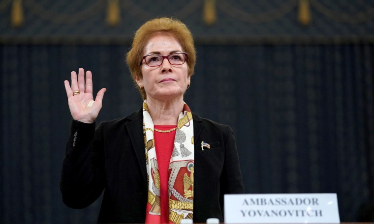 Ambassador Marie Yovanovitch Has Retired From Foreign Service…