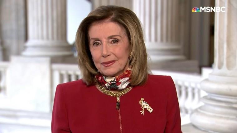 Speaker Pelosi says Trump's taxes reveal 'national ...