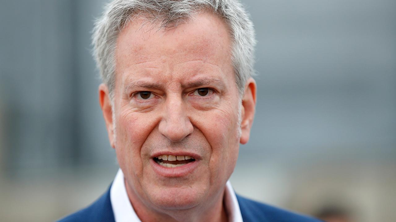 NYC reopening still 'a few months away at minimum', de Blasio says…