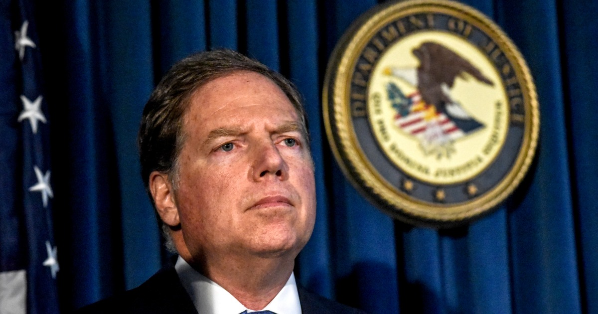 Fired NY prosecutor Geoffrey Berman was given Biden-Ukraine allegations in 2018 but didn't follow up, emails show…
