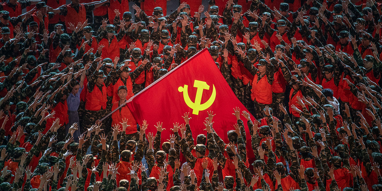 100 years of the Chinese Communist Party and it's plunging ...