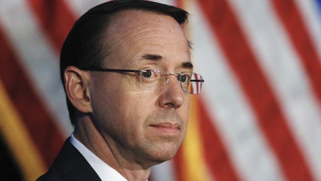 Rod Rosenstein says he made call to release Strzok-Page texts…
