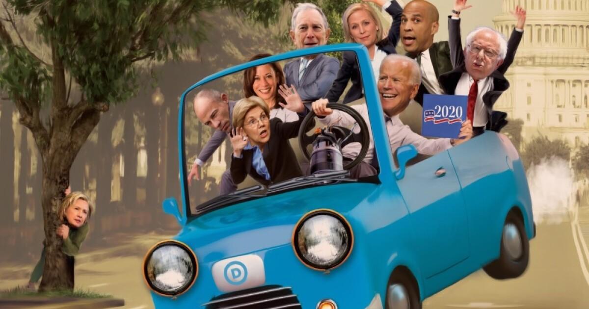 45 Democrats jostling to challenge Trump in 2020