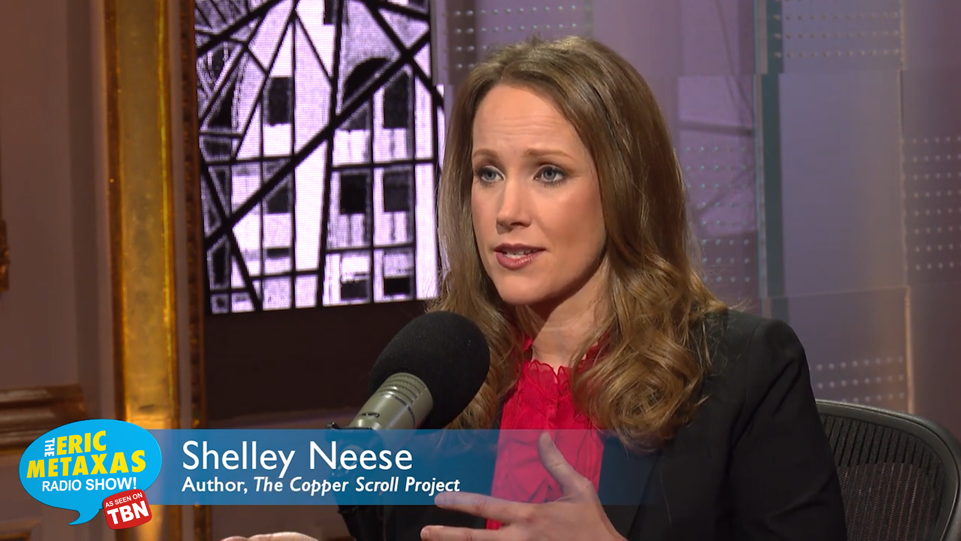 Shelley Neese: The Copper Scroll Project - Metaxas Super ...