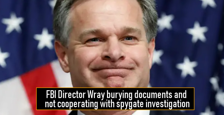 FBI Director Wray burying documents and not cooperating ...