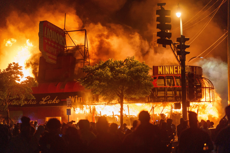 Unrest Destroys Minneapolis' Landmark Street Of Diversity ...