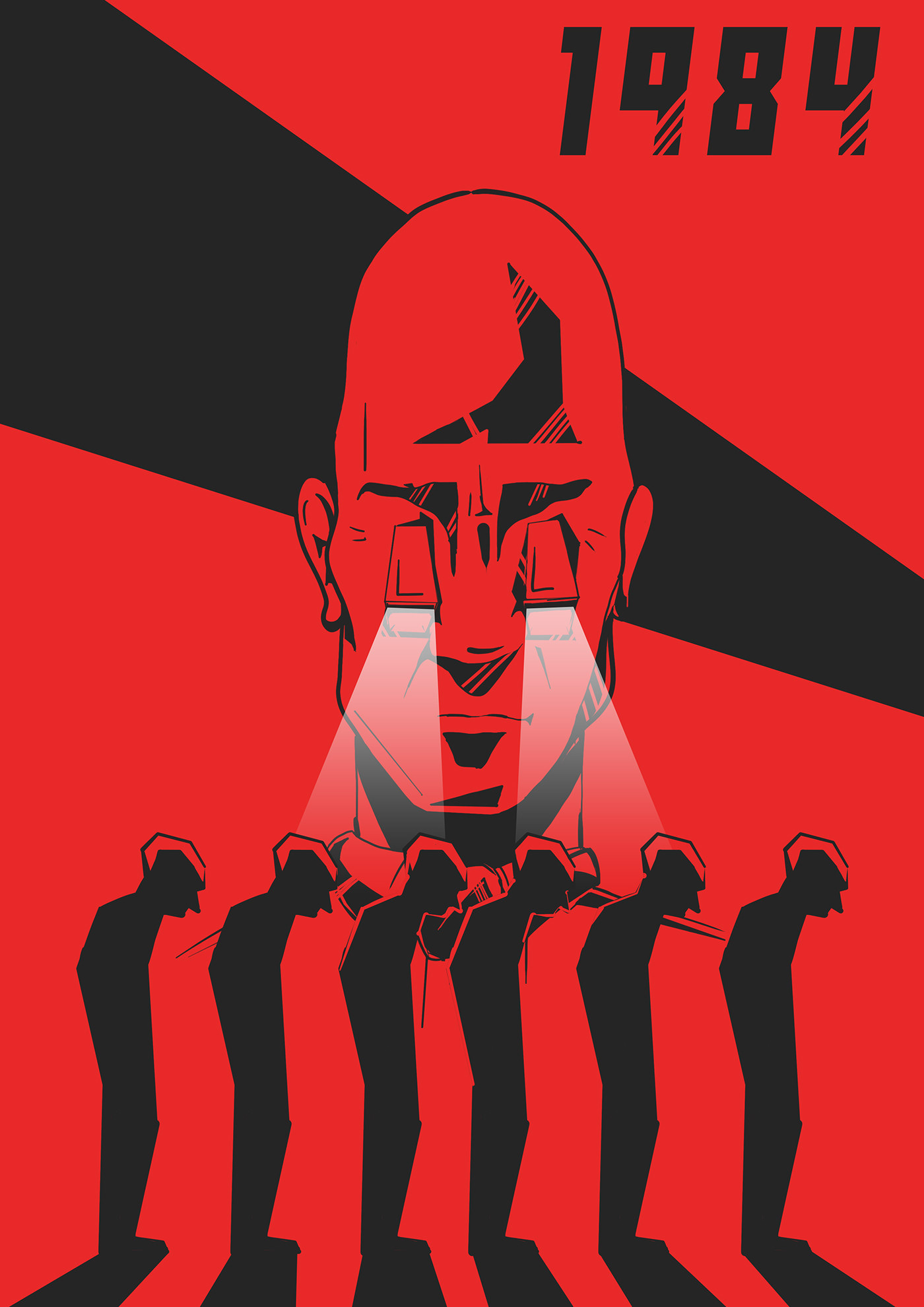 1984 - George Orwell on Behance