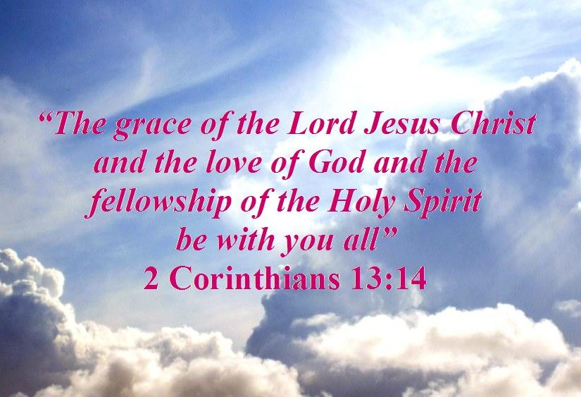 God the Father, God the Son and God the Holy Spirit – 2 Corinthians ...