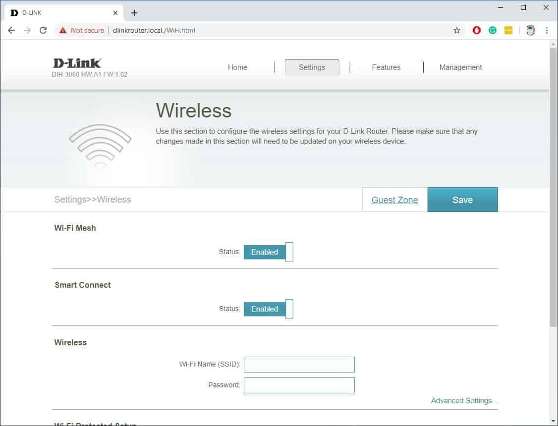 D-Link DIR-3060 EXO AC3000 Smart Mesh Router Review 15