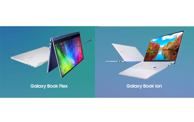 Samsung Galaxy Book Flex and Ion unveiled with QLED Display