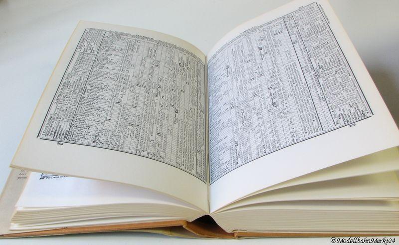 1886 Bradshaw Tables