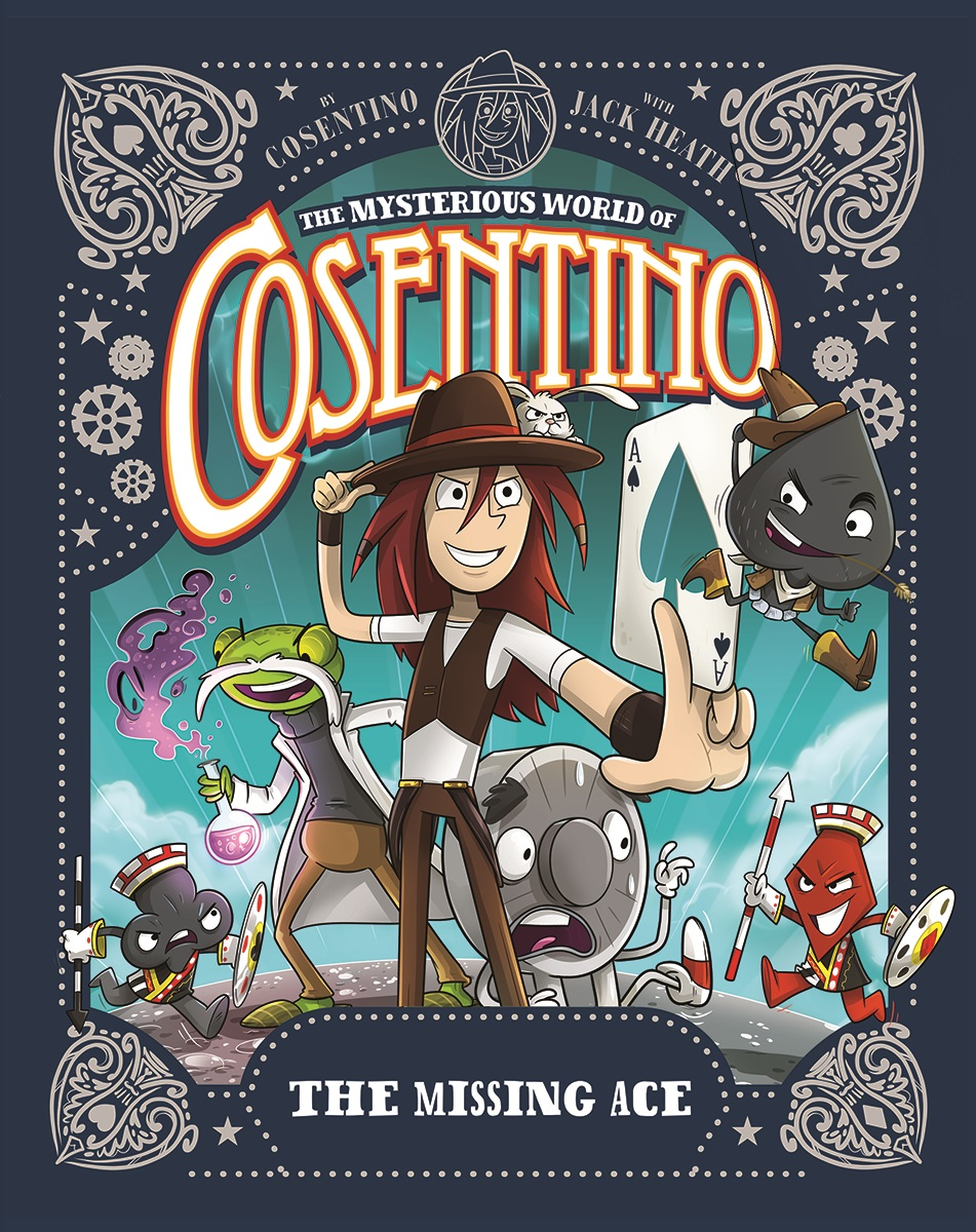 Magical, Mysterious, Cosentino! – Mom Read It