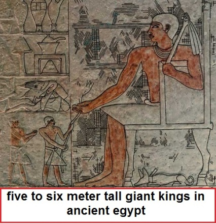 ... egyptians, The giants truth is already told by ancient egyptians