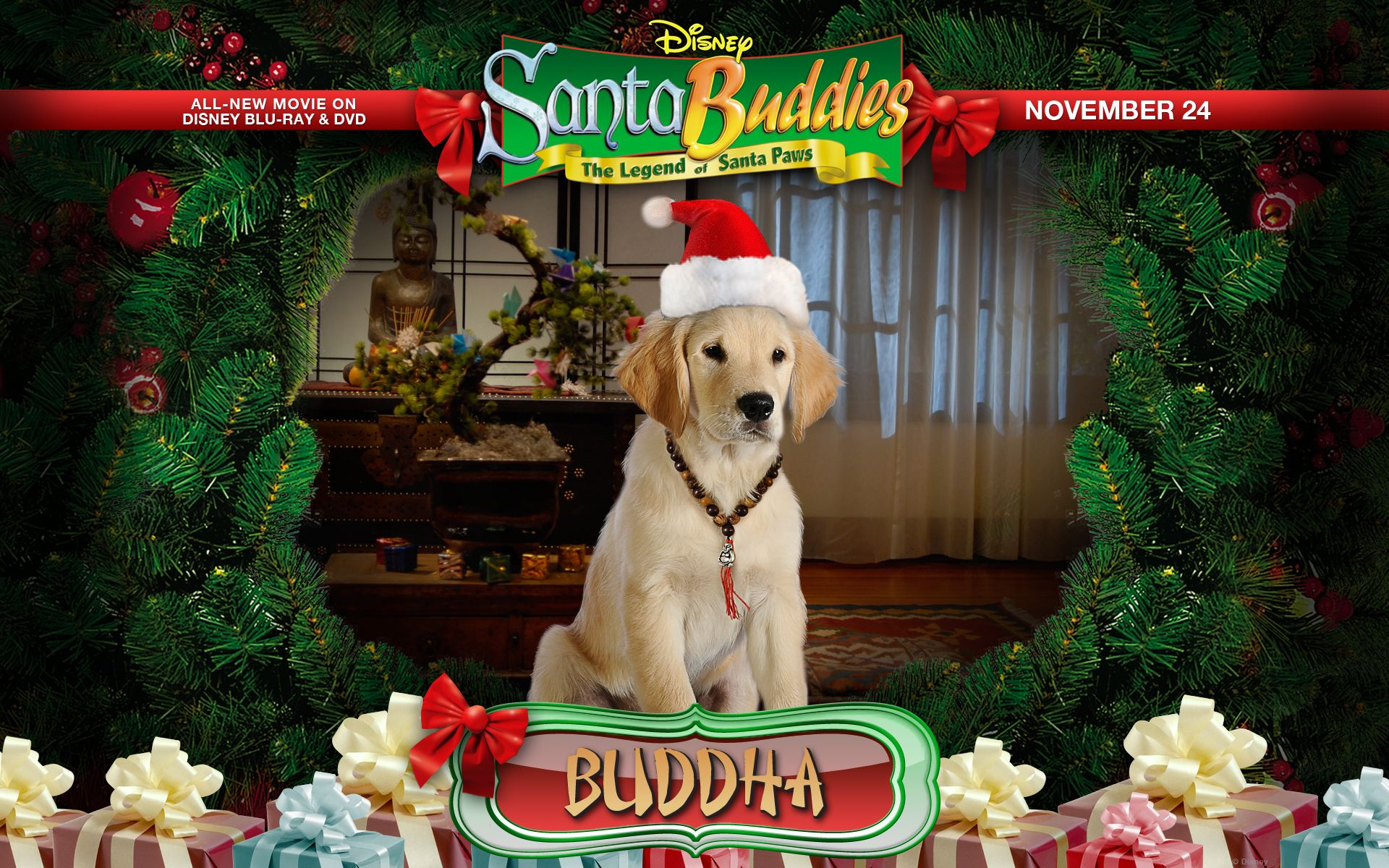 Santa Buddies- Disney releases Puppy Cuteness for the ...