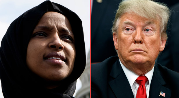 Trump Calls On Justice Department to Investigate Ilhan ...