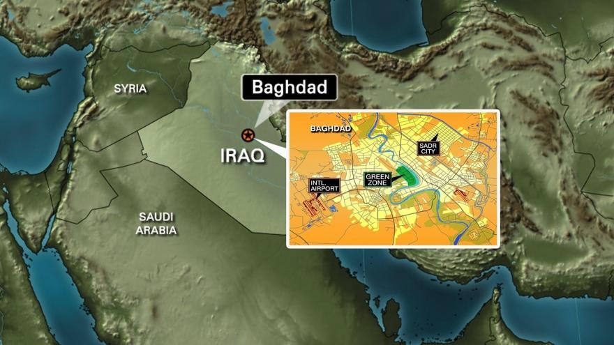Iran-Backed Militia Fires Three Rockets At US Embassy In Baghdad…