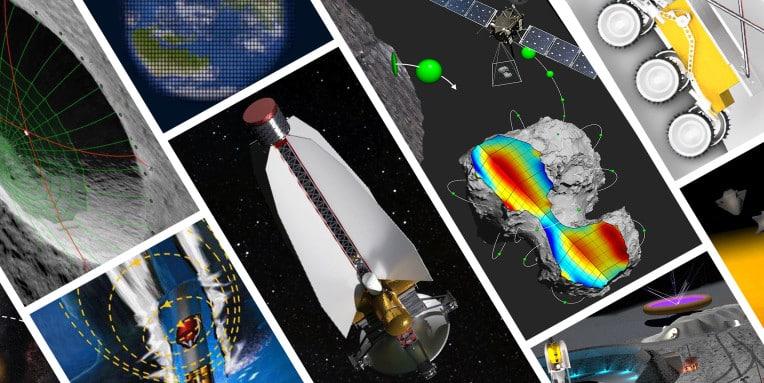 NASA puts $7M toward long-shot research, from moon mining to solar lenses…