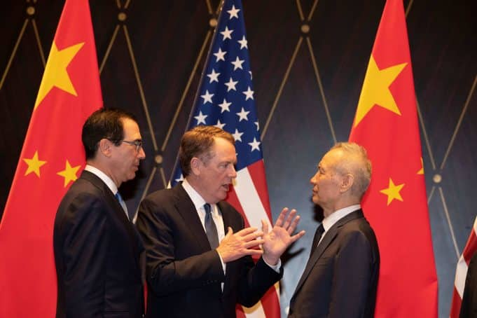 "Chinese Officials Call For Renegotiation Of ""Phase One"" Trade Deal…"